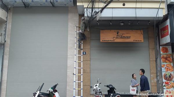 Sửa cửa cuốn tại Đông Ngạc