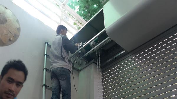 Sửa cửa cuốn tại Minh Khai
