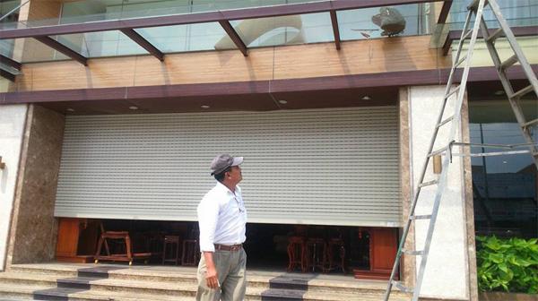 Sửa cửa cuốn tại Phú Diễn