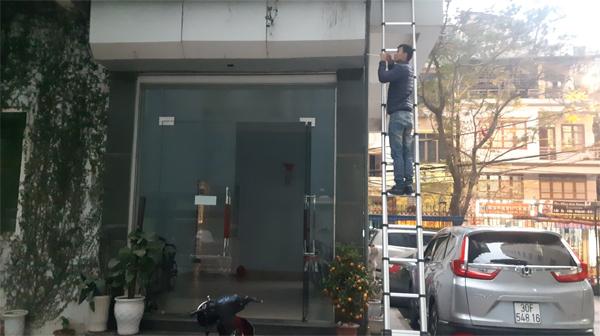 Sửa cửa cuốn tại Thụy Phương