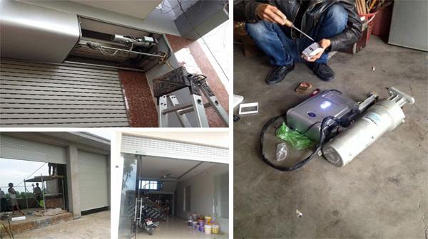 Sửa chữa cửa cuốn tại Phú Đô giá rẻ