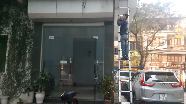 Sửa chữa cửa cuốn tại Phương Canh