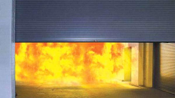 Khắc phục sự cố cửa cuốn không mở được khi xảy ra cháy