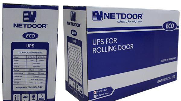 Ưu nhược điểm của bộ lưu điện cửa cuốn Netdoor