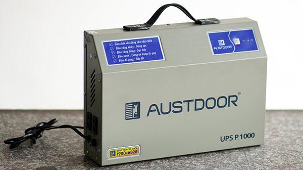 Bộ lưu điện cửa cuốn Austdoor có ưu điểm gì?